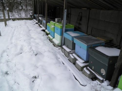Kasten, sneeuw, maart
