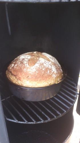 barbecue, brood bakken