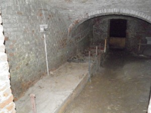 voorraadkelder, kasteel Hex
