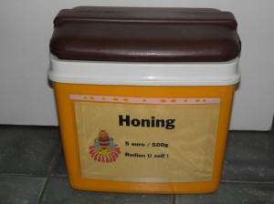 honingbox, thuisverkoop