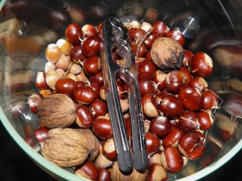 kastanjes en noten