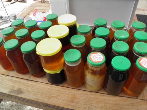 Honing uit zonnewassmelter