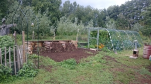 compostbakken, paletten